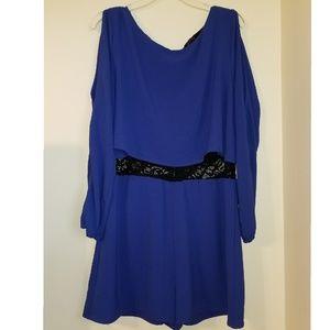 Dark Blue Romper